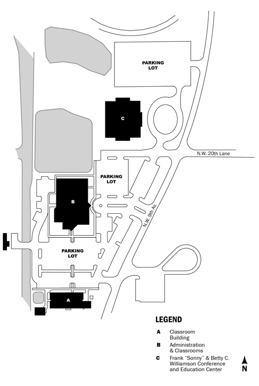 Campus Map - Cheryl Worlow